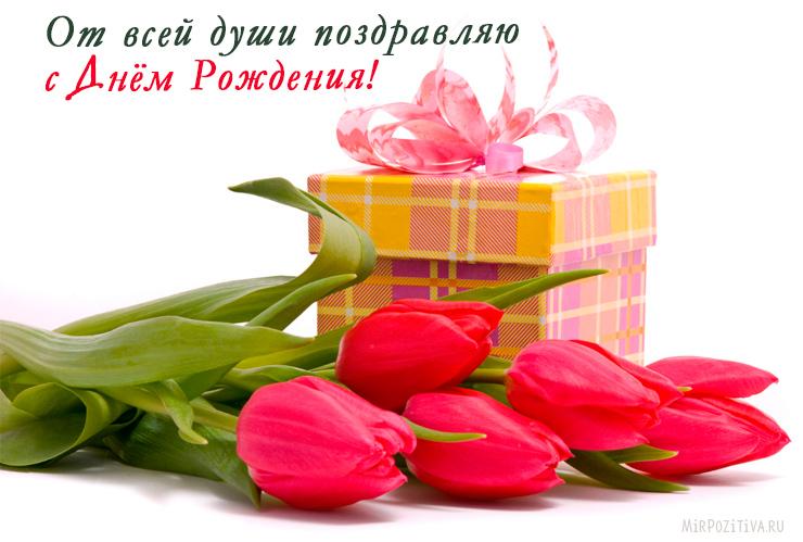 От всей души поздравляю с Днём Рождения!