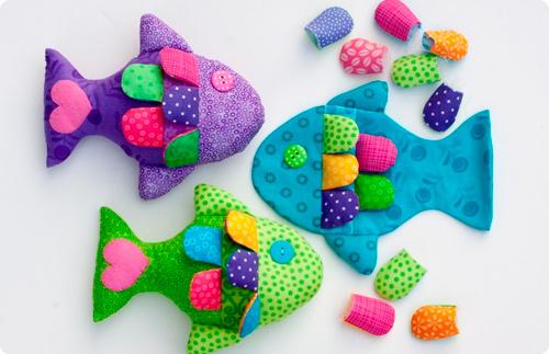 игрушки своими руками рыбки