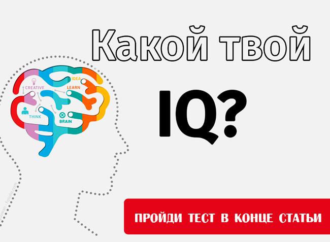 пройди тест намышление иинтеллект