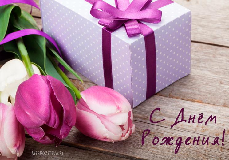 красивые цветы тюльпаны ко дню рождения