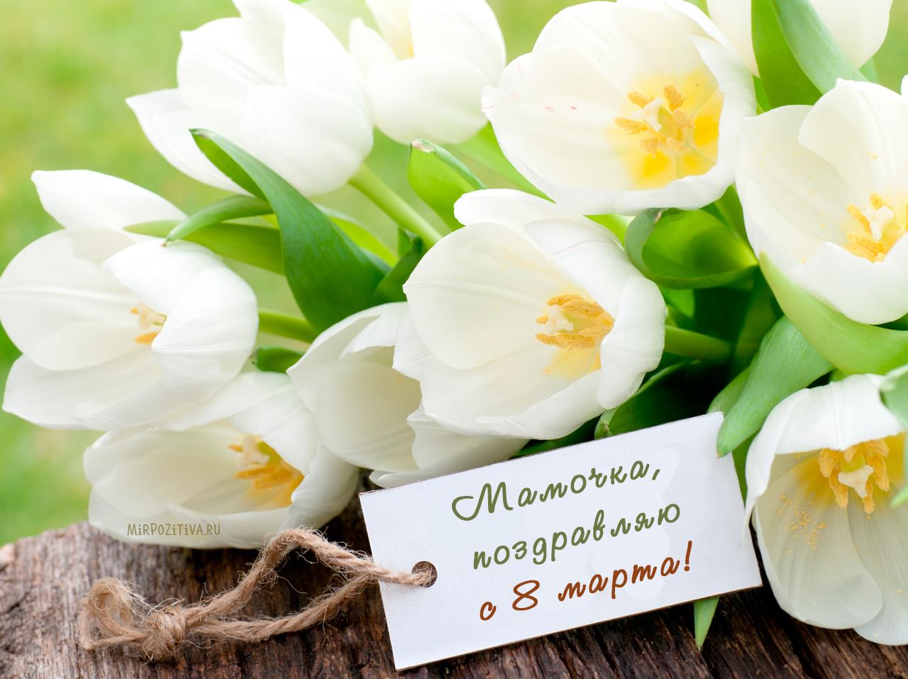 маме цветы