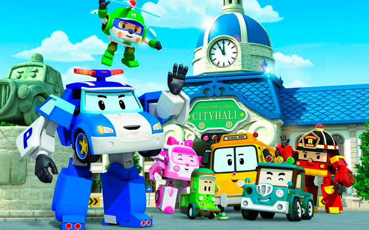 Робокар Поли и его друзья