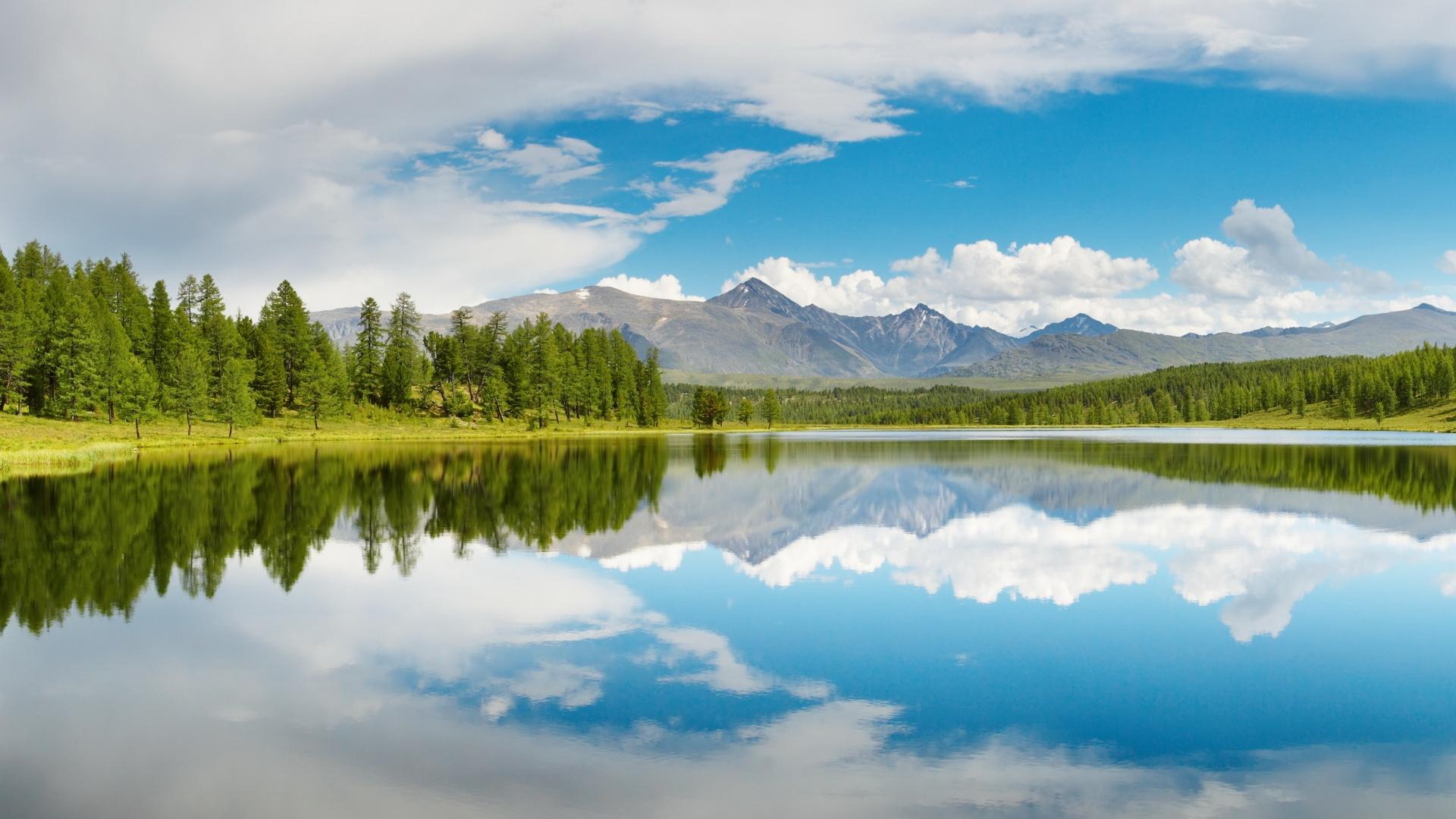вода гора