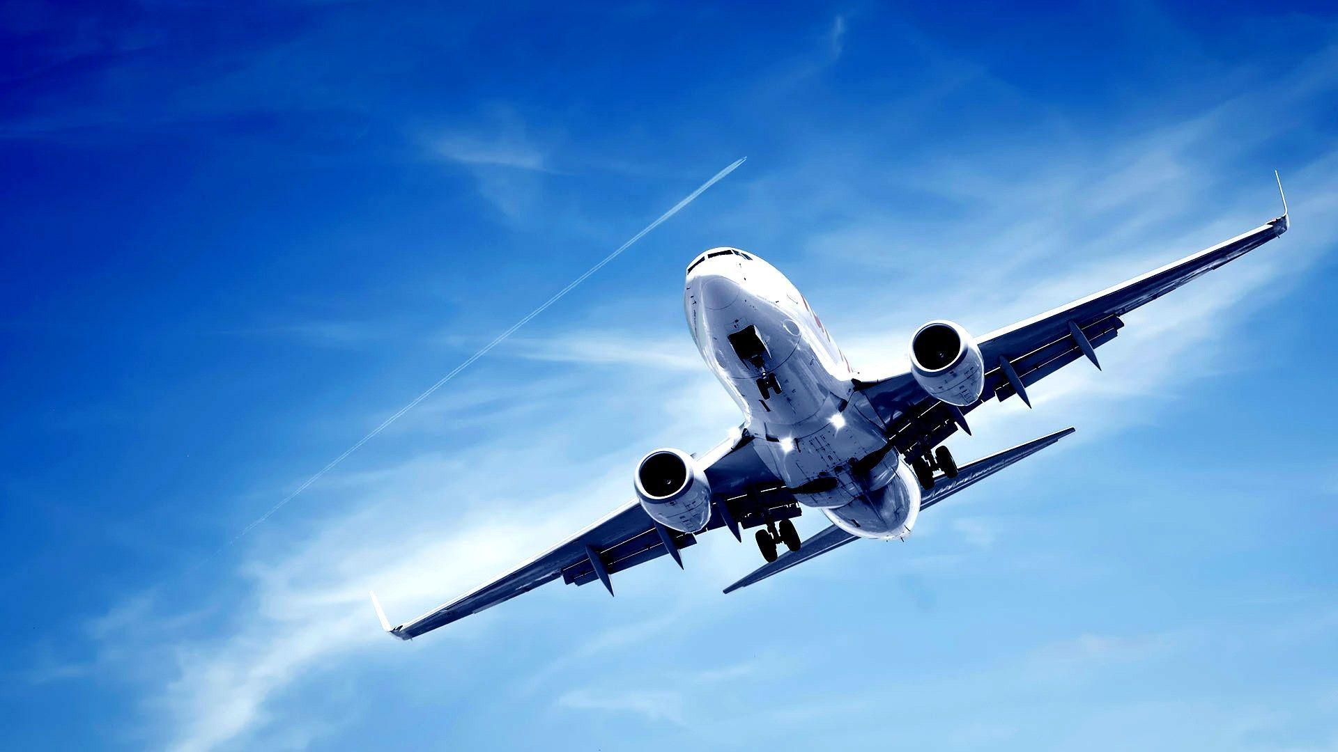 самолет вид снизу