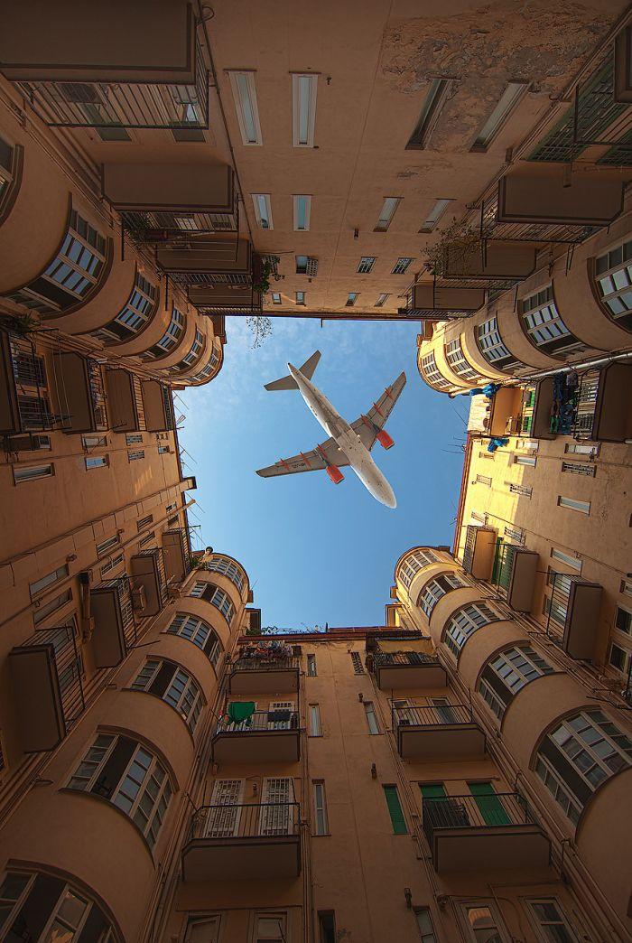 самолет, дома