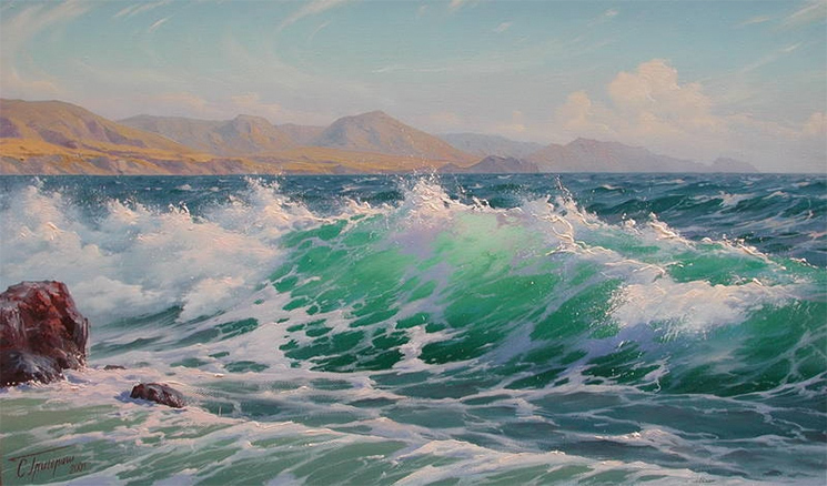 море волны