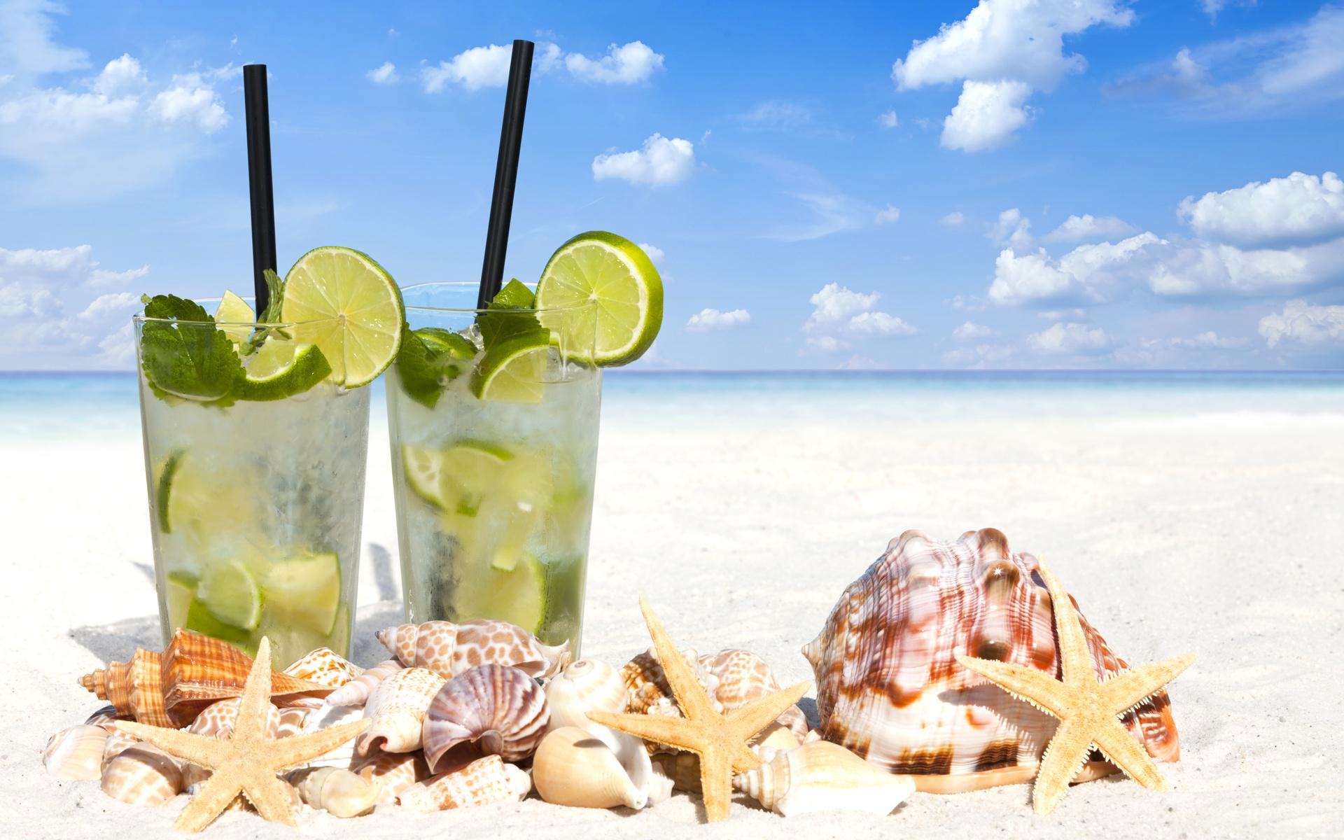 коктейли на море