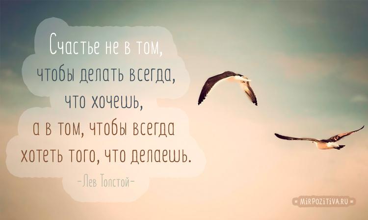 цитата о счастье Лев Толстой