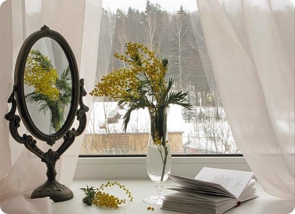 зеркало и окно