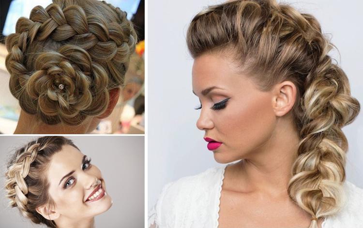 Плетение красивых кос пошагово. Плетение кос   видео уроки для начинающих.