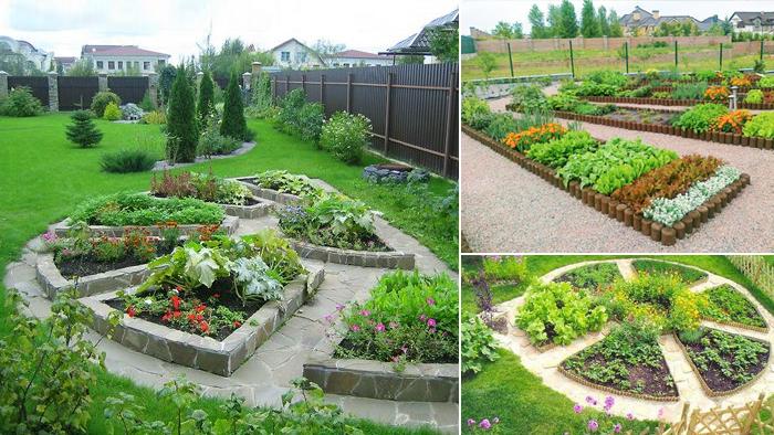 Декоративный огородик