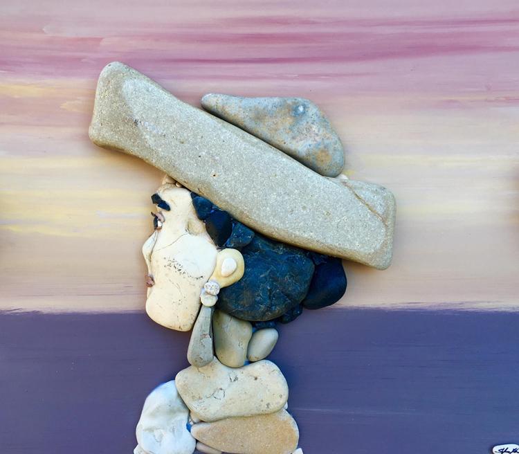 Картинки из камней морских