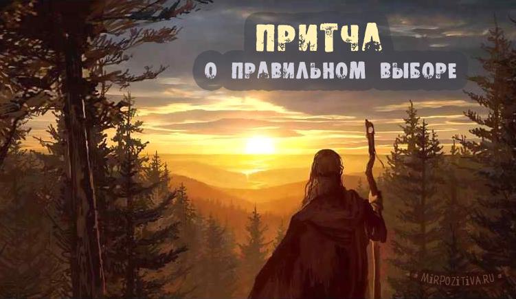 старик смотрит на дорогу из леса