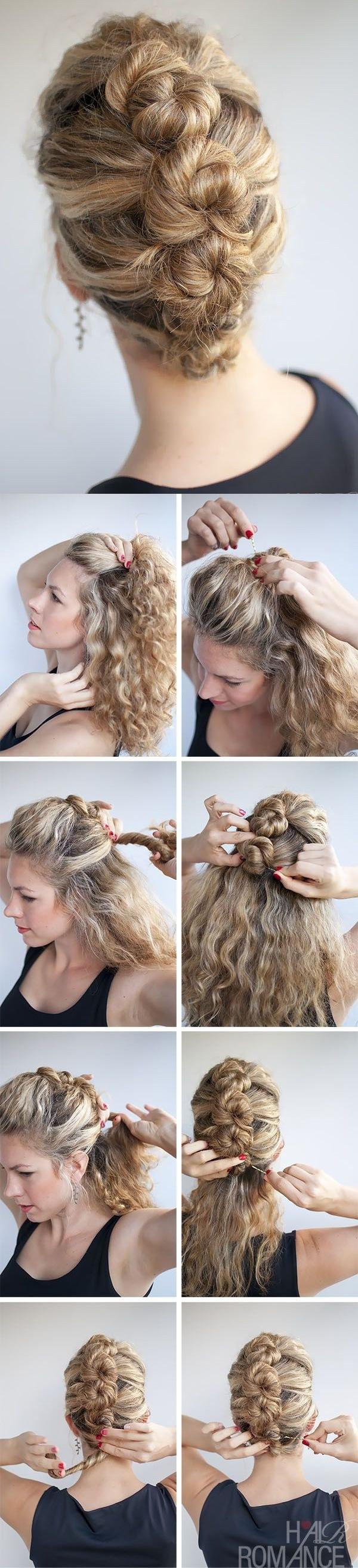 Мастер-классы причесок на средние волосы с фото