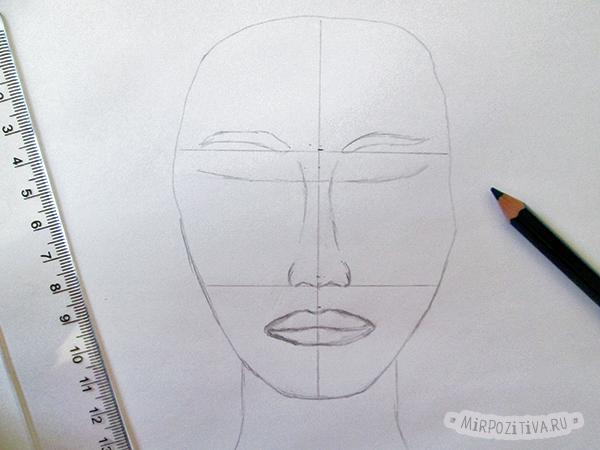 лицо рисуем сами