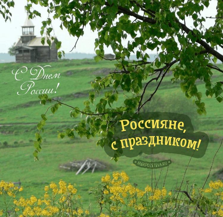 Россияне, с праздником!