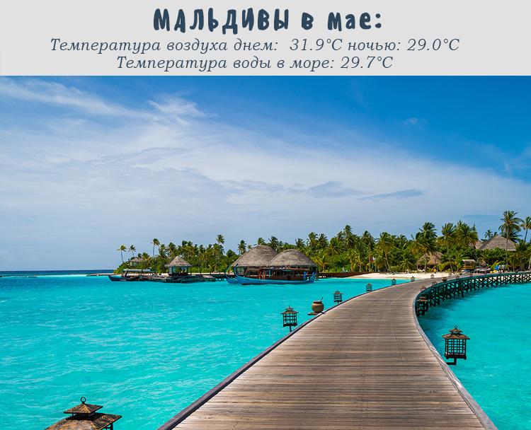 Мальдивы, погода в мае