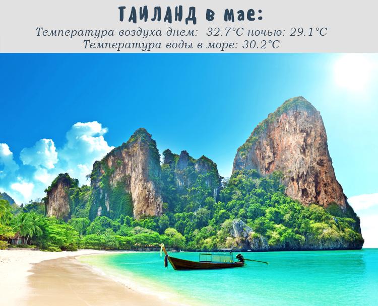 Таиланд в мае погода отличная