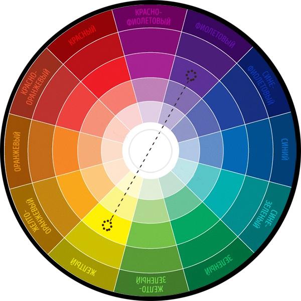 комплементарная пара цветов