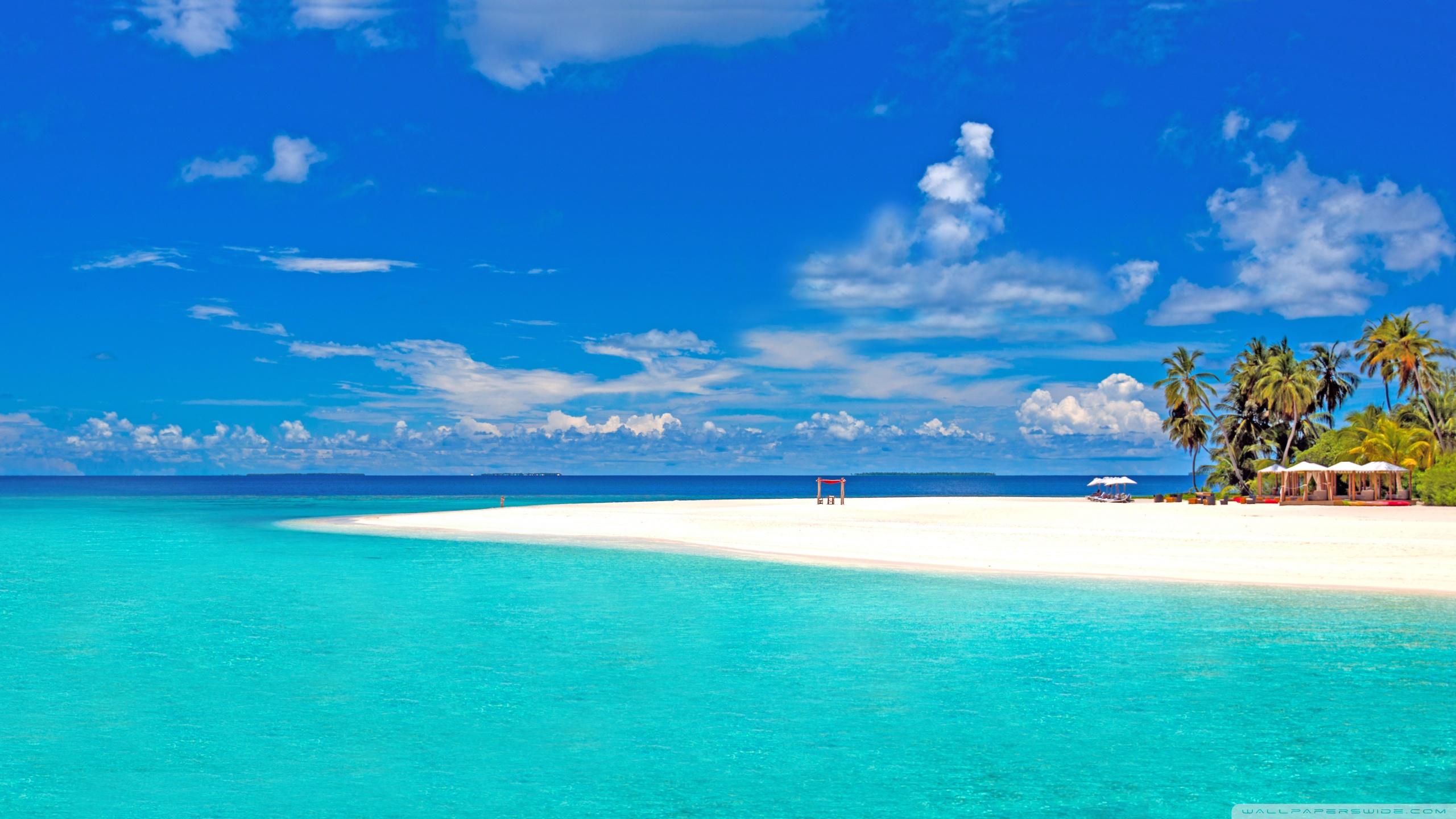 остров белый песок