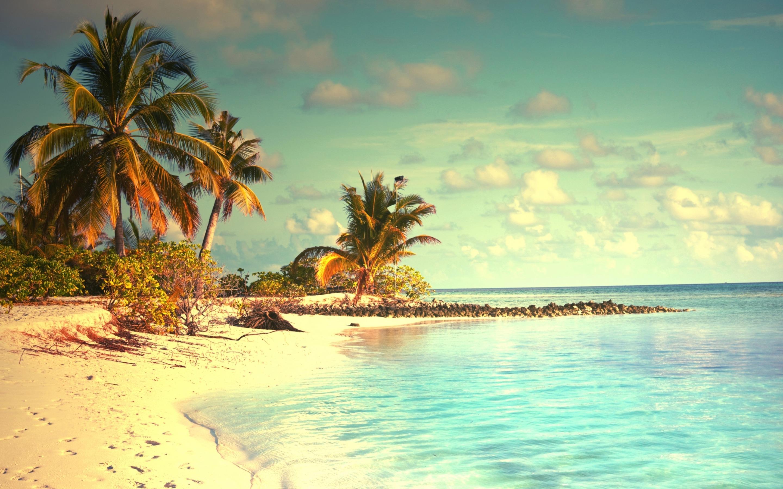 тропики пляж