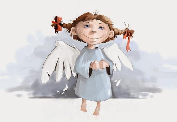 девочка ангелок