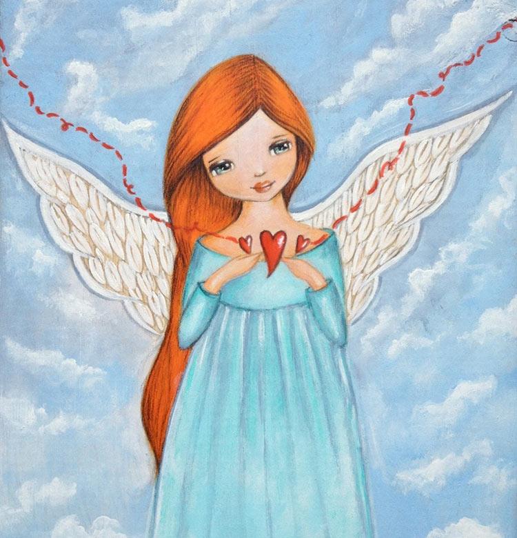 рисунок ангела