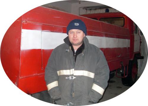 пожарный Альберт Акаев