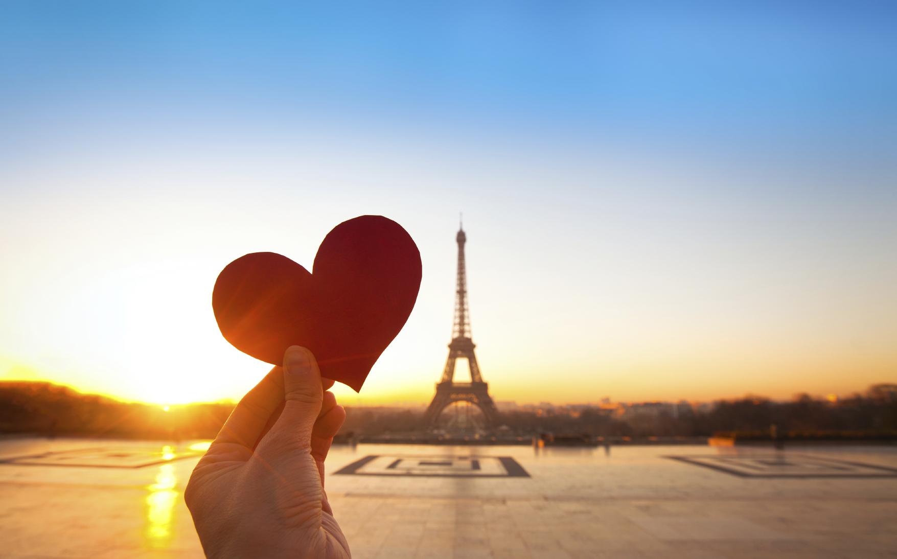 сердце эйфелева башня