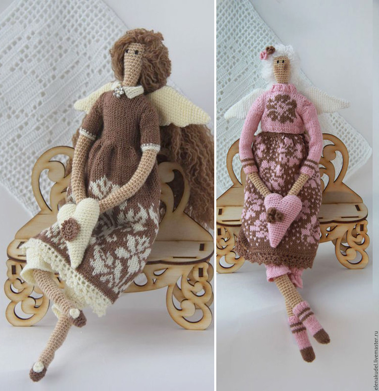 пример куклы тильды крючком