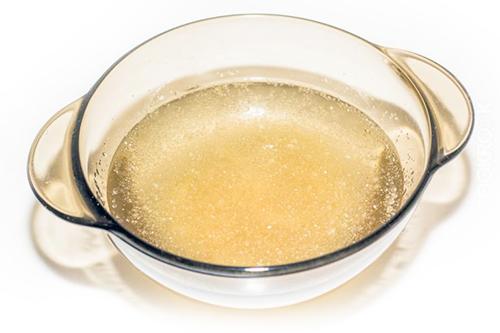 желатин в воде