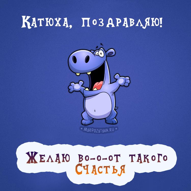 бегемот - Катюха, поздравляю!
