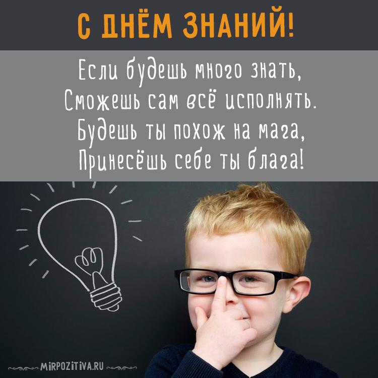 умный мальчик - Если будешь много знать, Сможешь сам всё исполнять.