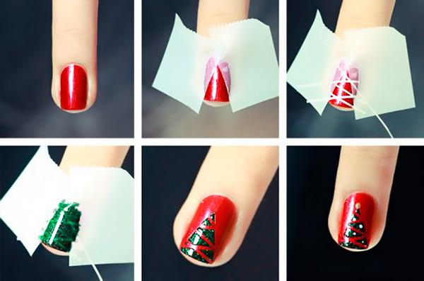 Выбираем модный дизайн ногтей на Новый год 2019