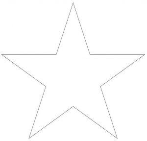 звезда шаблон