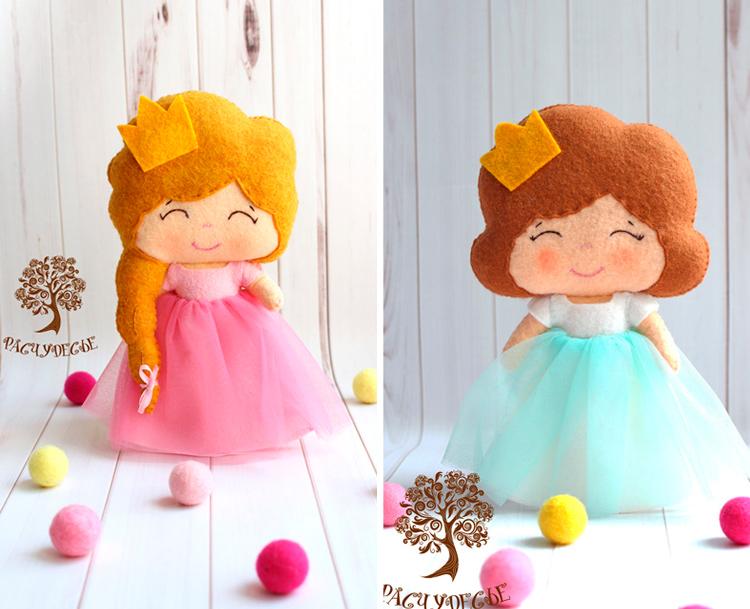 куклы из фетра