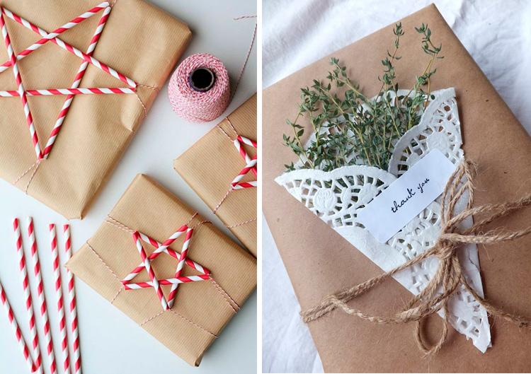 идея упаковки подарка
