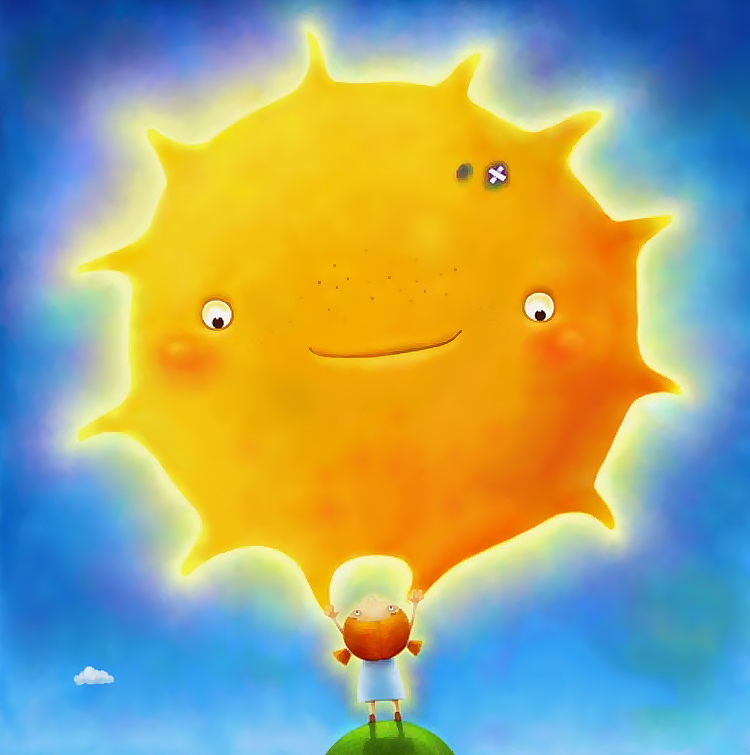 улыбка солнце