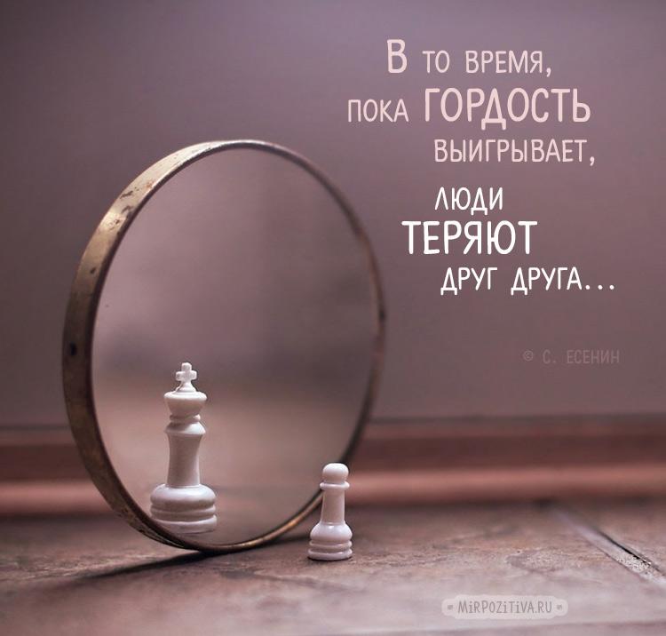 гордость пешка зеркало