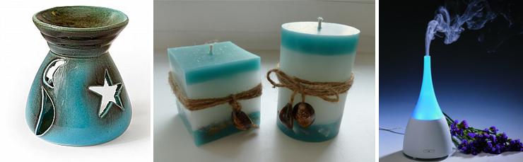 свечи и аромалампы