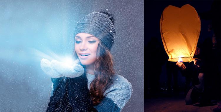 романтичная девушка зима