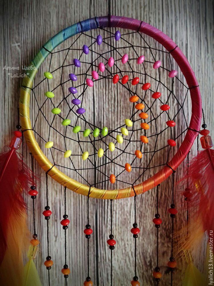 цветной ловец снов