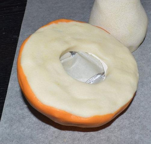 создаем гриб из соленого теста для деток