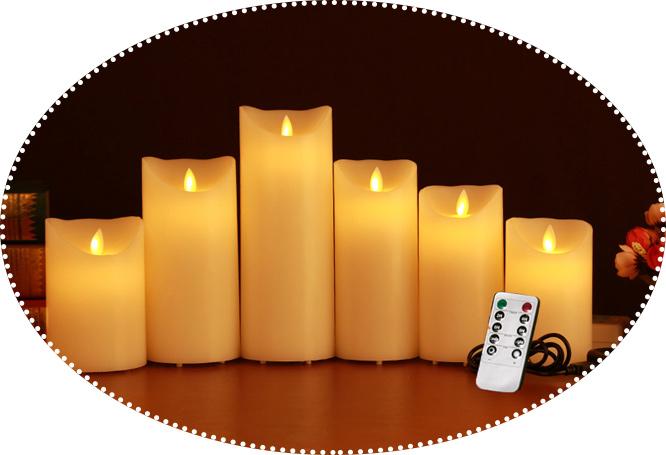 свечи с дистанционном управлением