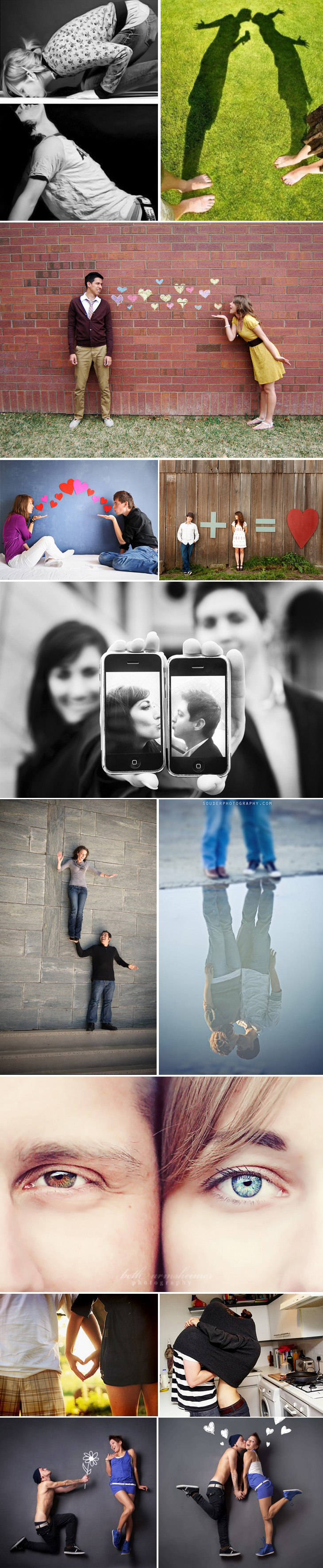 идеи фотосессии для влюбленных