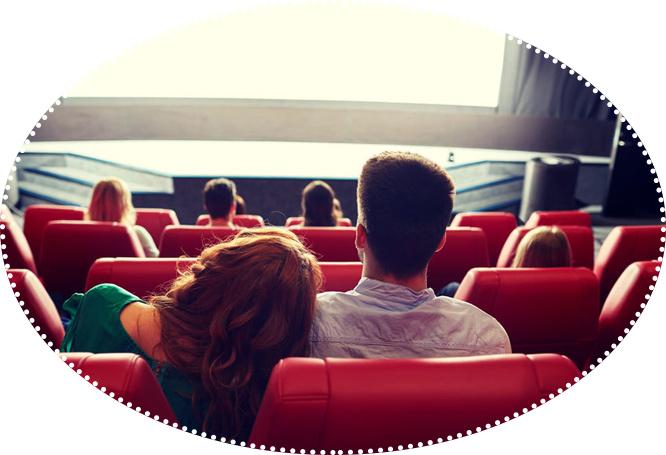 парочка в кино