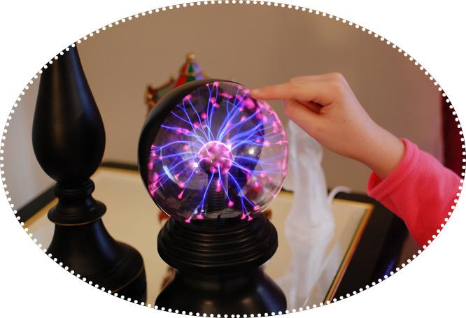 плазменный шар светильник