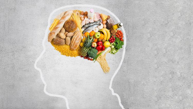 еда в голове