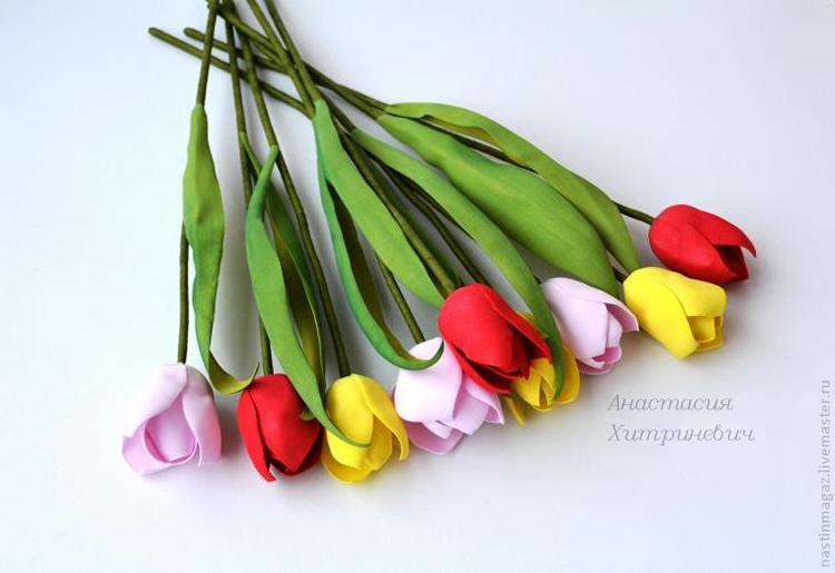 тюльпан из фома