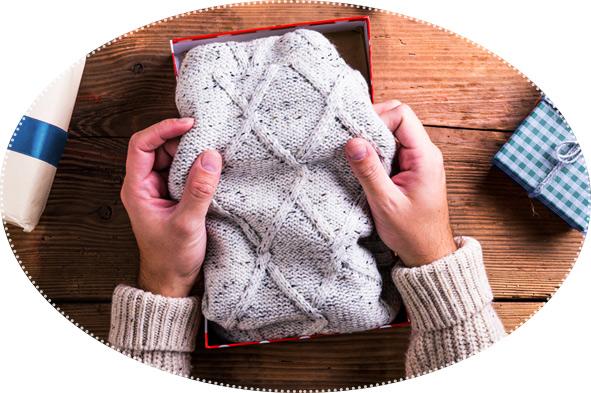свитер в подарок